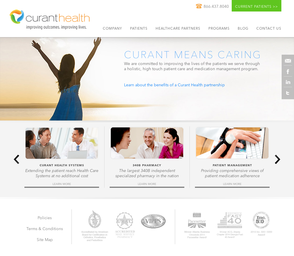 Curant Health Competitors, Revenue and Employees - Owler