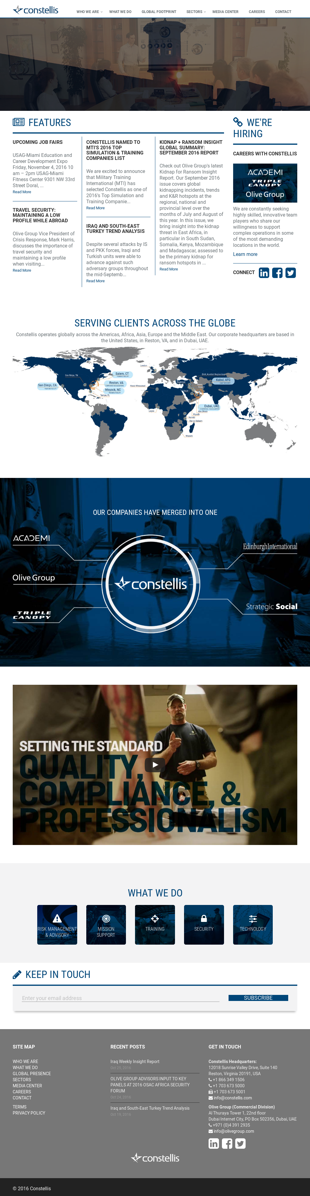 Constellis website history  sc 1 st  Owler & Constellis Company Profile - Revenue Number of Employees Funding ...