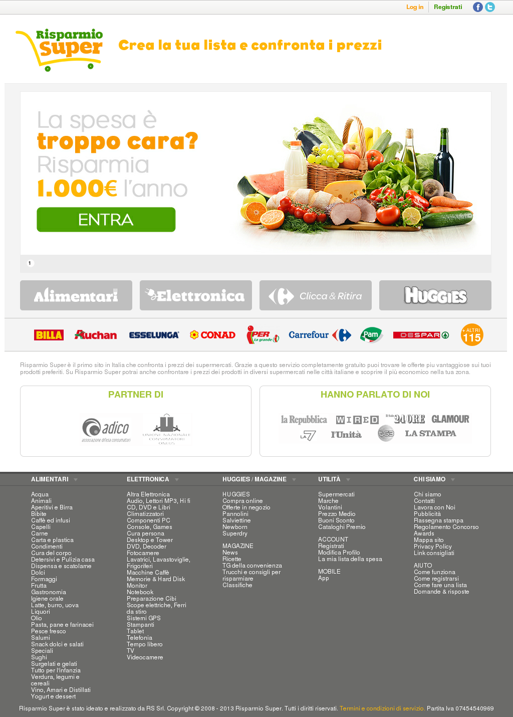 Scope Elettriche Ad Acqua.Risparmio Super Competitors Revenue And Employees Owler Company