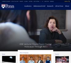 Penn website history