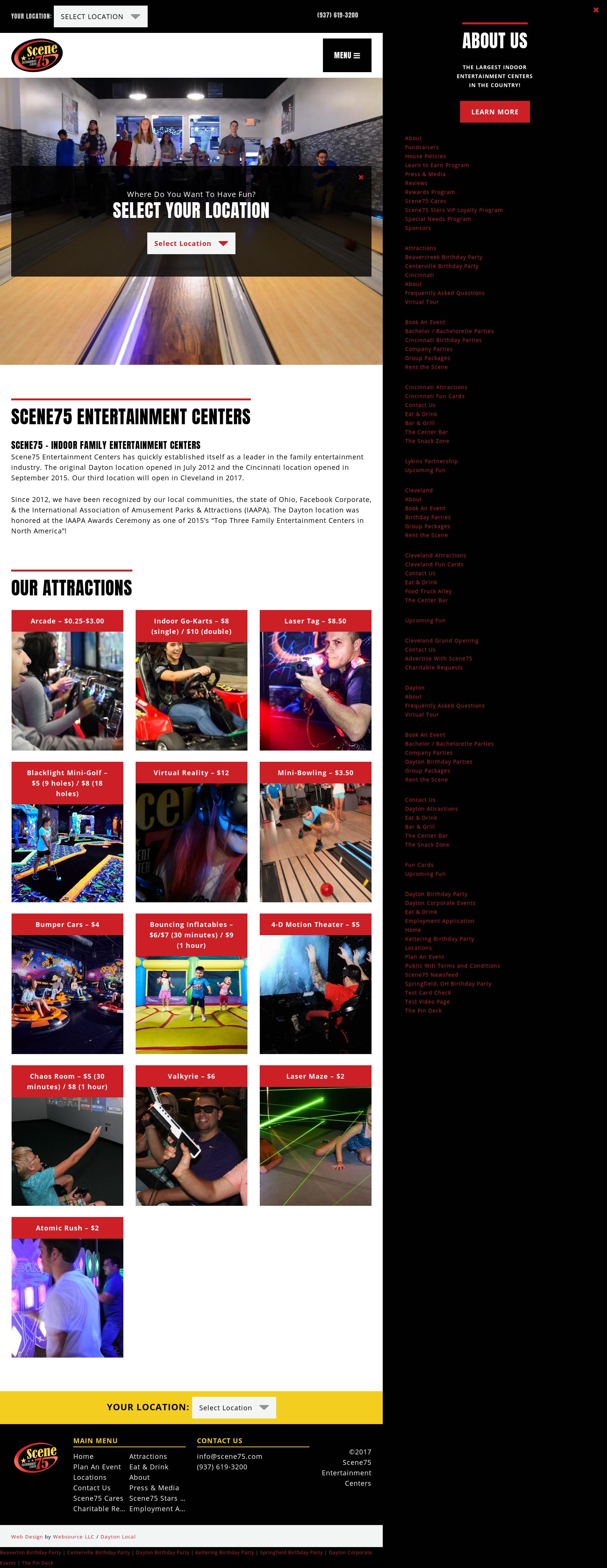 Amazing Scene75 Entertainment Centers Website History