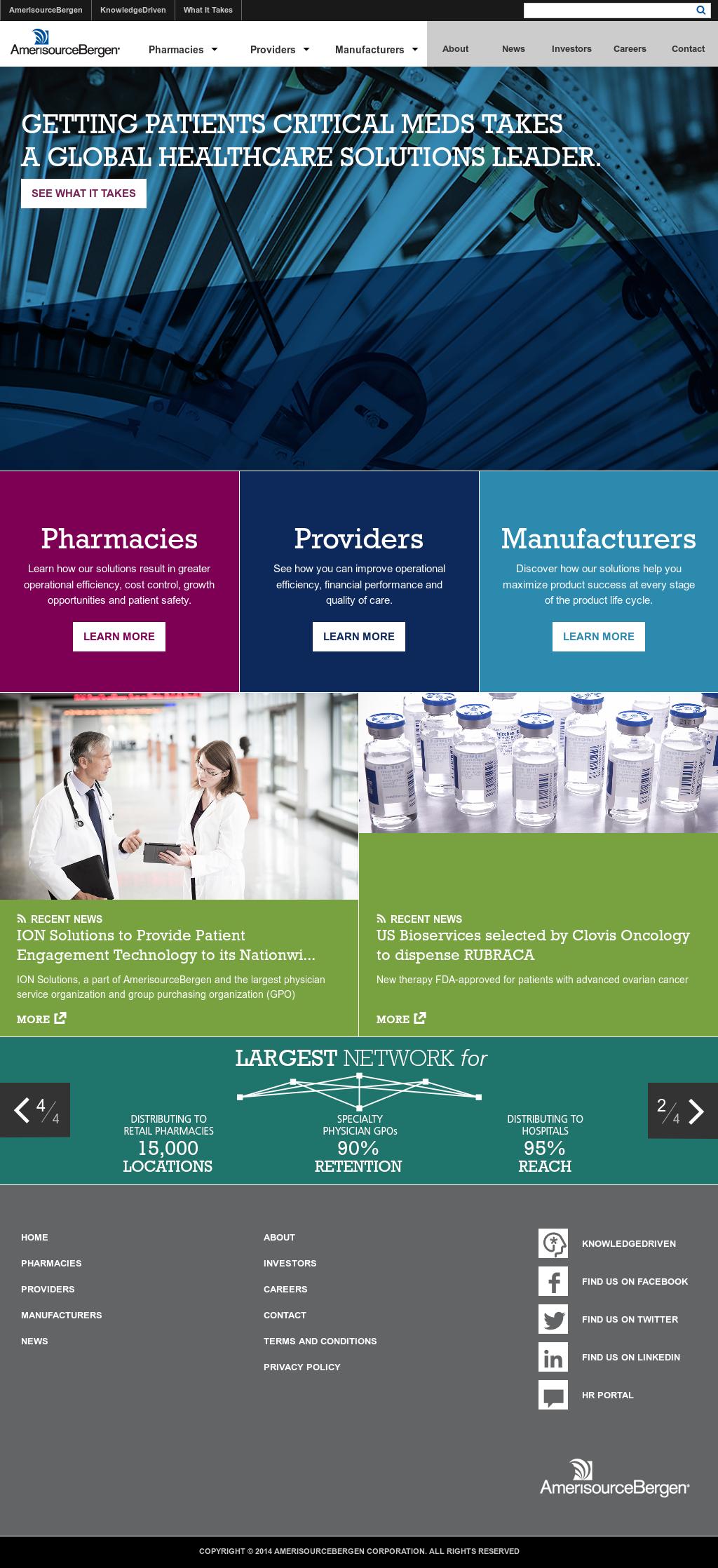 AmerisourceBergen Competitors, Revenue and Employees - Owler Company