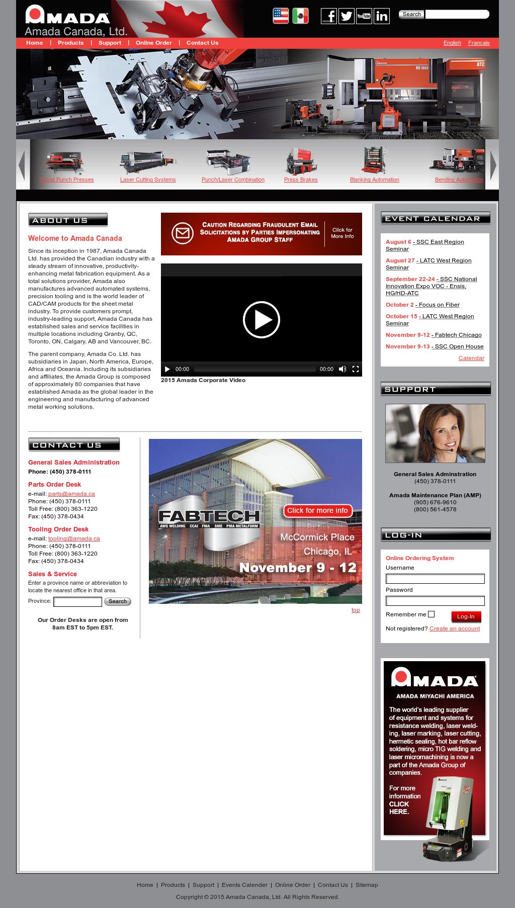 Amada Competitors, Revenue and Employees - Owler Company Profile