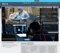 HCA website history