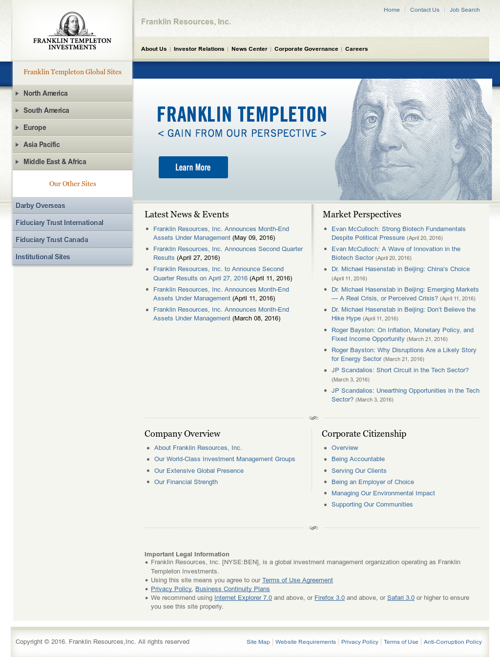 Franklin Templeton Investments Competitors, Revenue and Employees