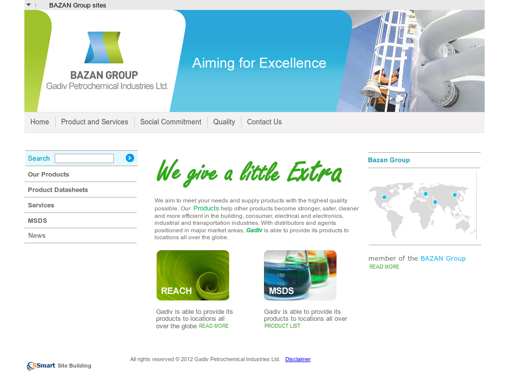 Owler Reports - Press Release: Bazan Group : Succinic Acid