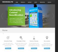 Econolite website history