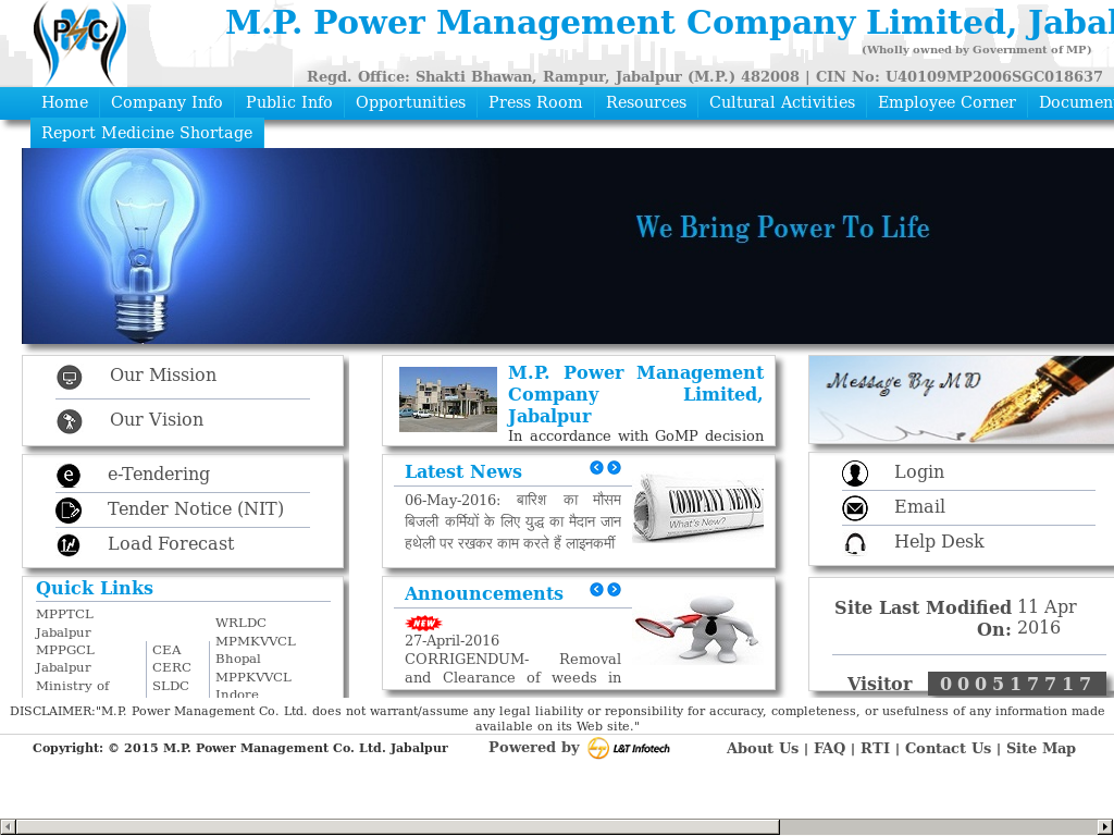 MP Power Management Company Competitors, Revenue and