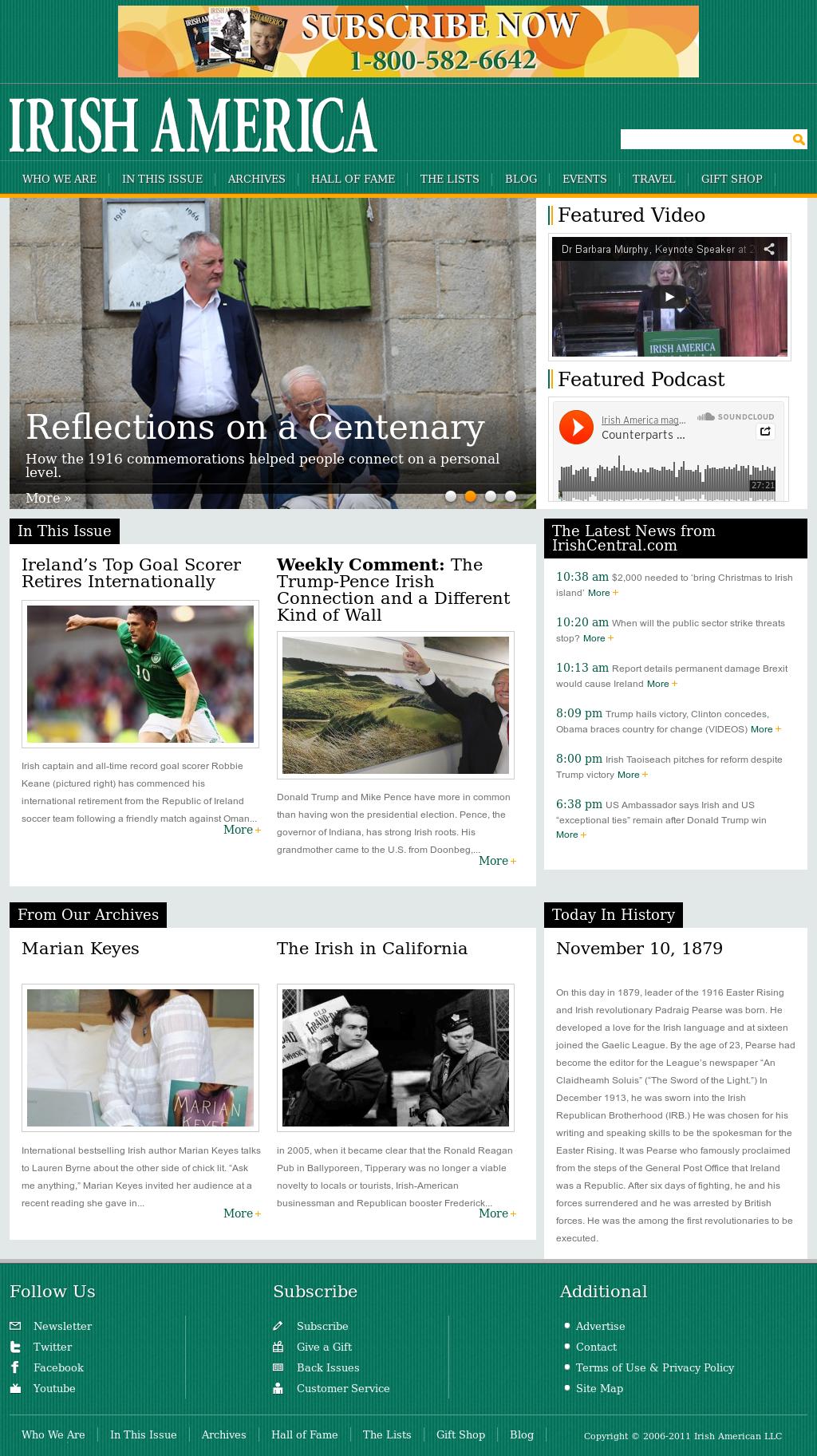 Irish America Competitors, Revenue and Employees - Owler Company Profile