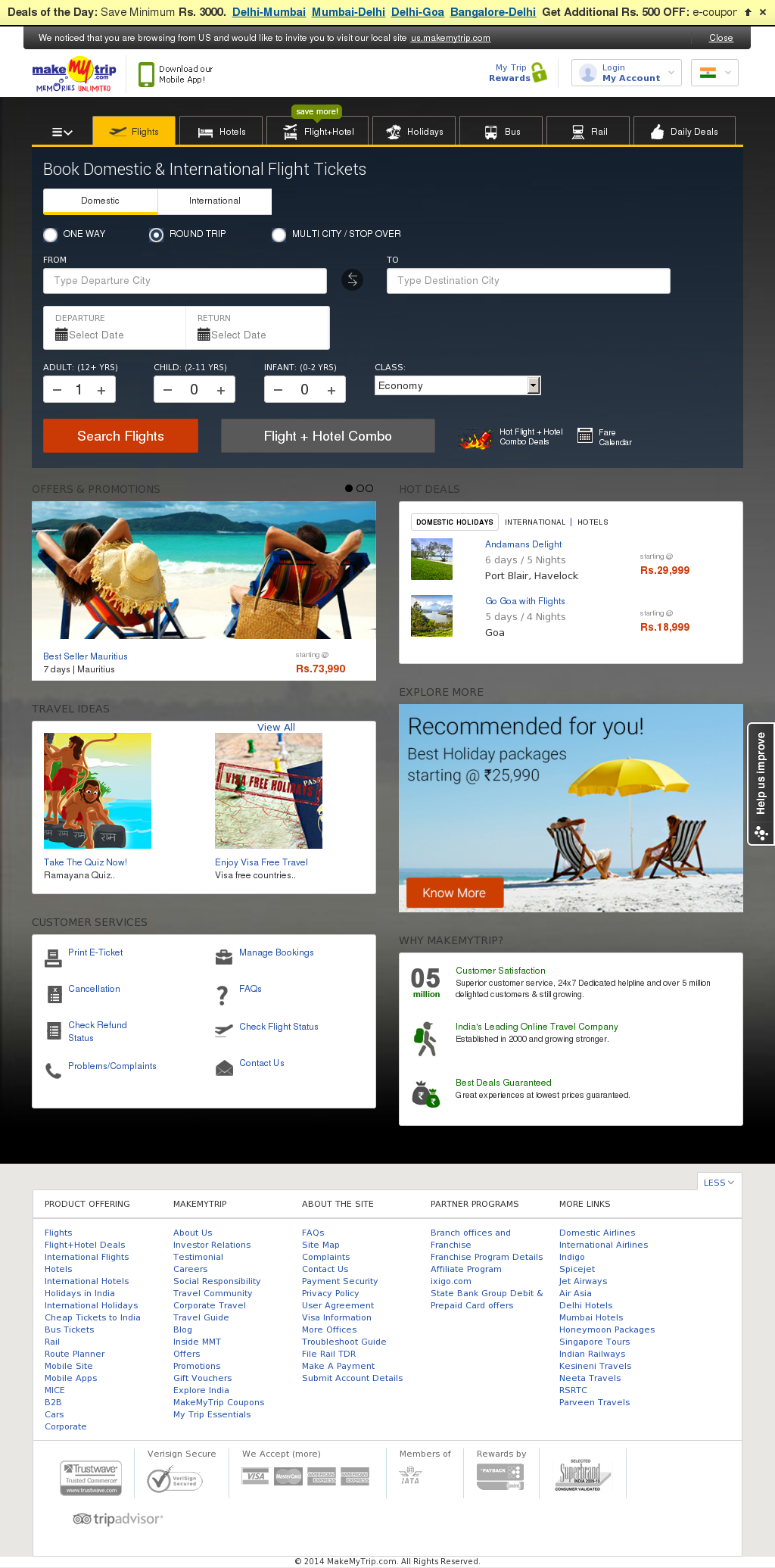 MakeMyTrip Competitors, Revenue and Employees - Owler