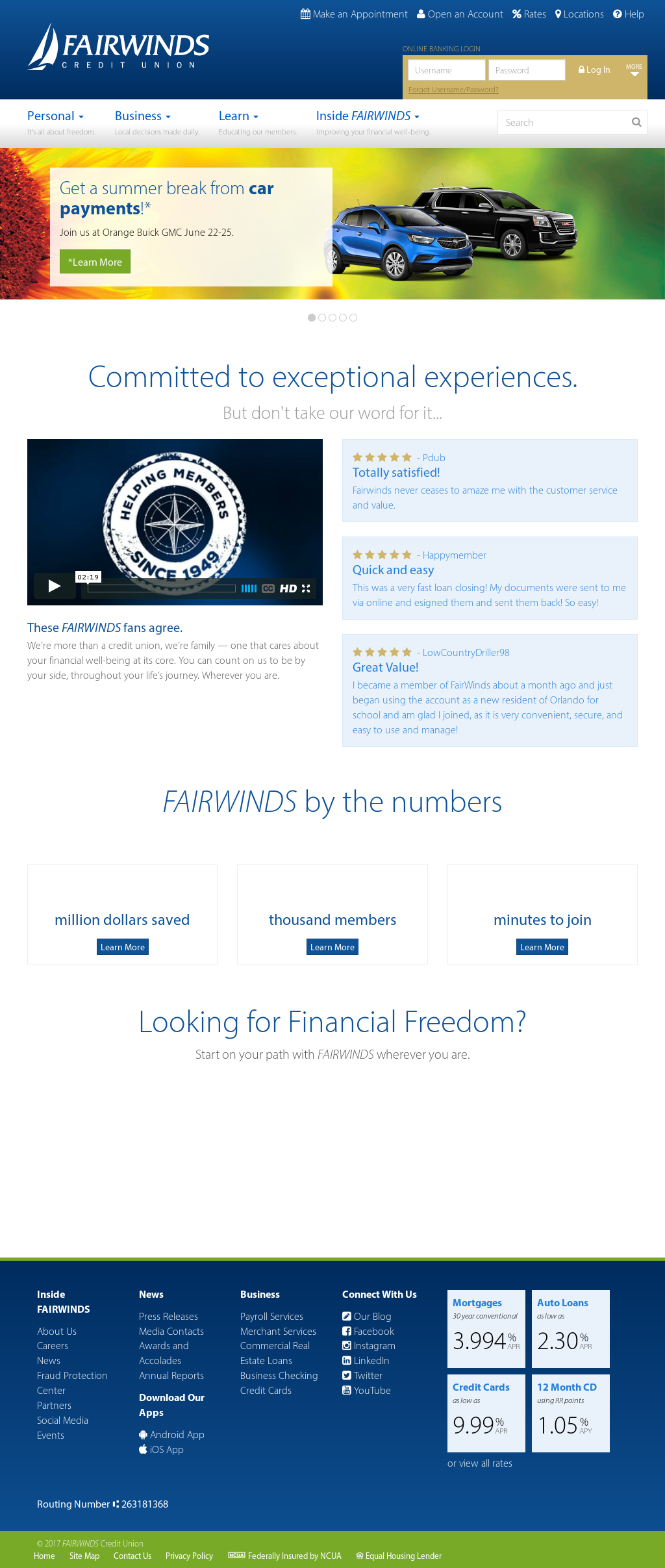 Fairwinds Customer Service >> Fairwinds Credit Union Competitors Revenue And Employees