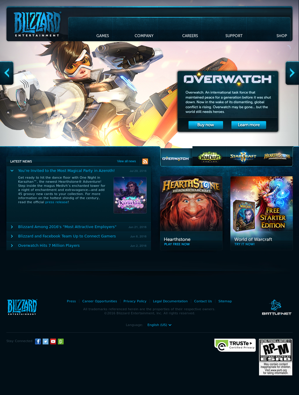 Blizzard Entertainment Competitors Revenue And Employees Owler