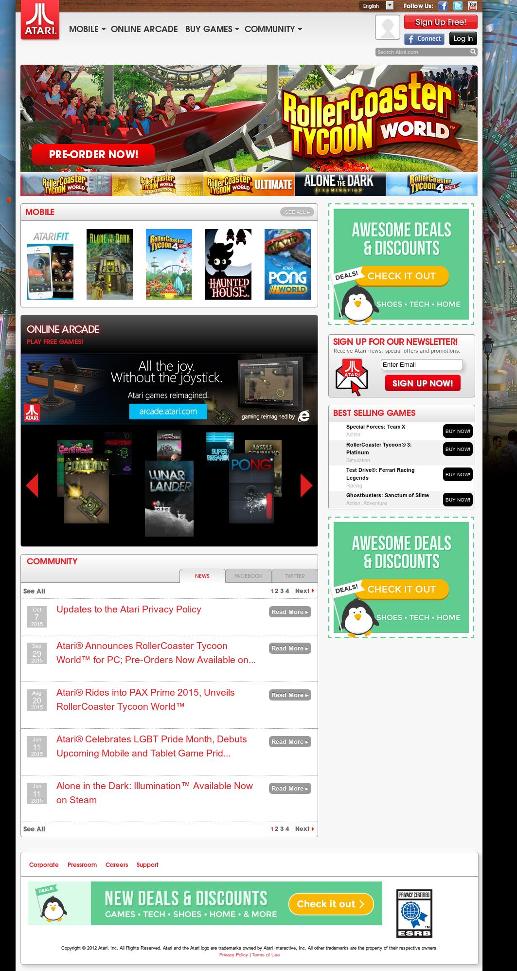 Atari Competitors, Revenue and Employees - Owler Company Profile