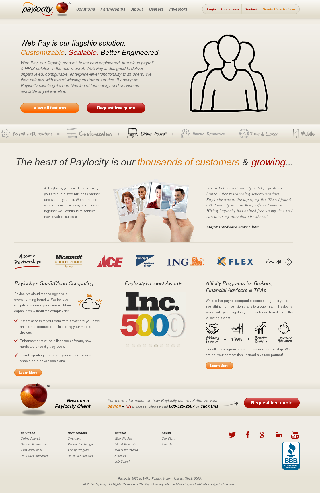 Access Paylocity paylocity competitors, revenue and employees - owler company