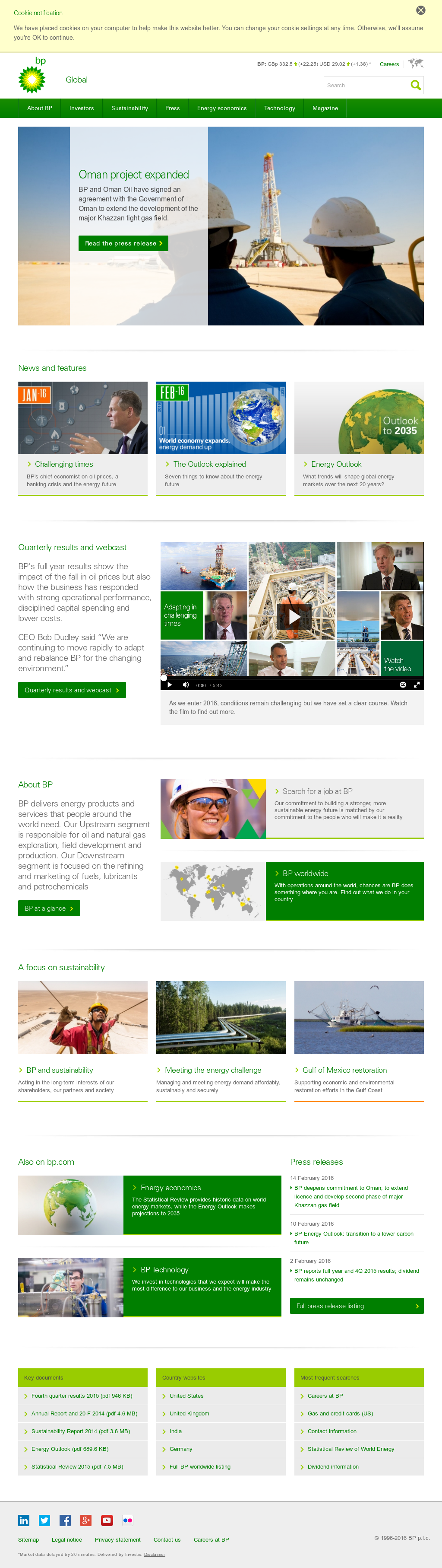 BP Competitors, Revenue and Employees - Owler Company Profile
