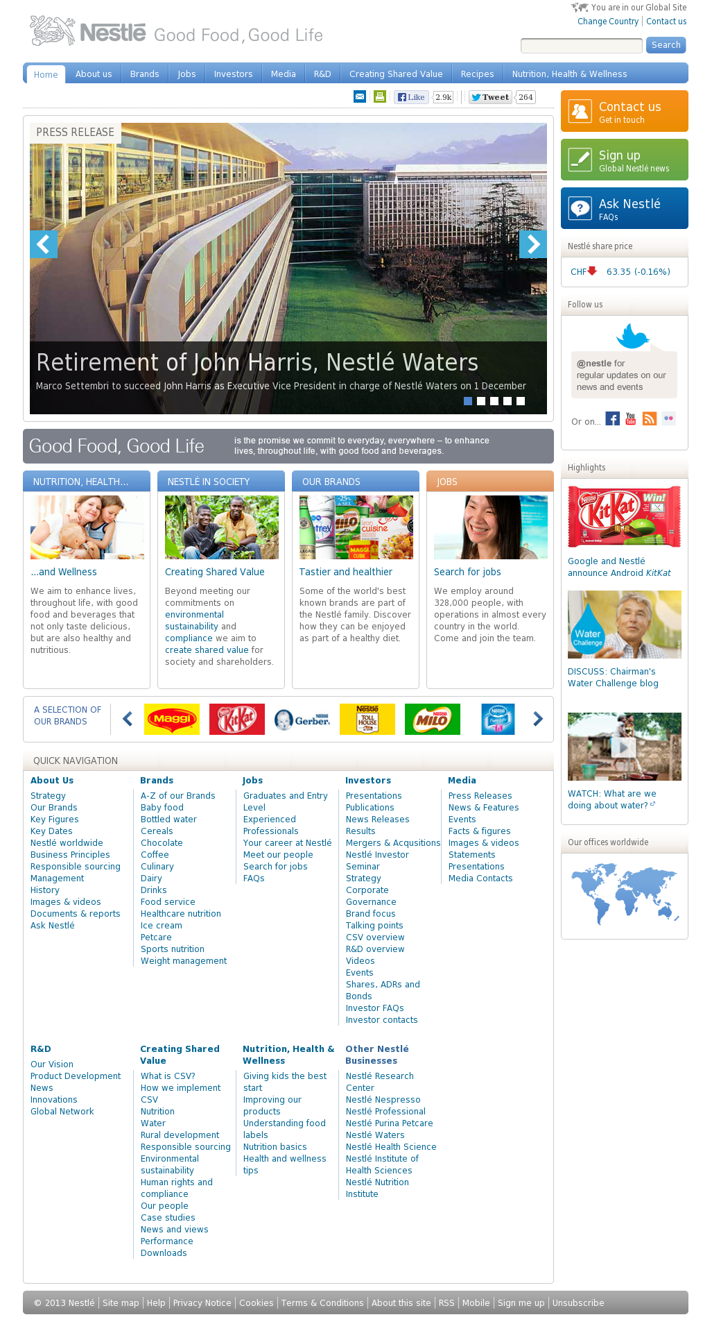 Nestle Competitors, Revenue and Employees - Owler Company