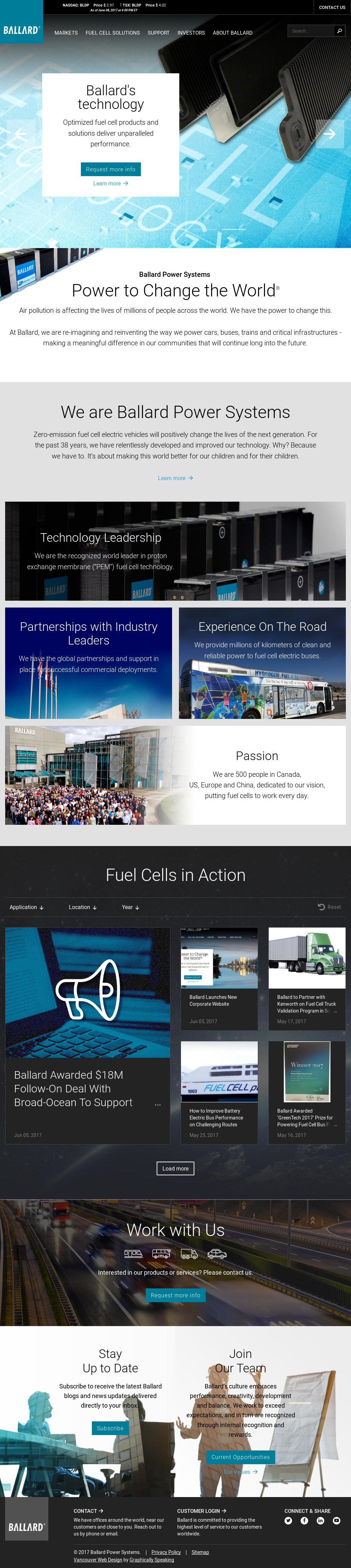 Ballard Competitors, Revenue and Employees - Owler Company Profile