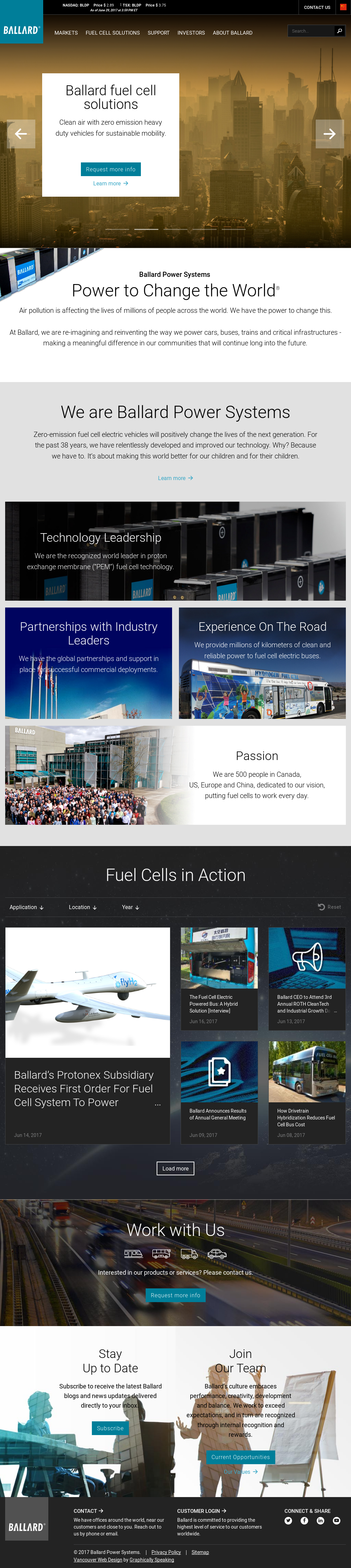 Ballard Competitors, Revenue and Employees - Owler Company