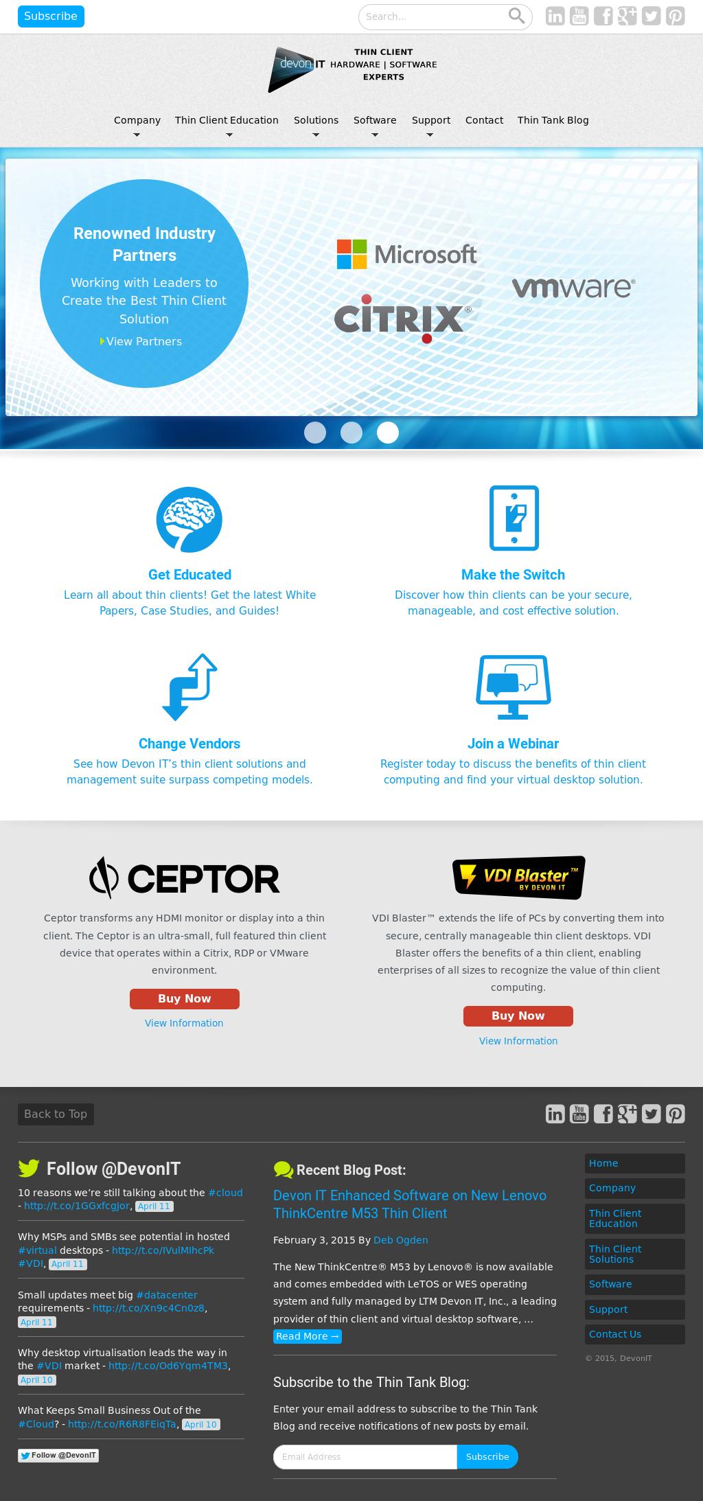 Devon IT Competitors, Revenue and Employees - Owler Company