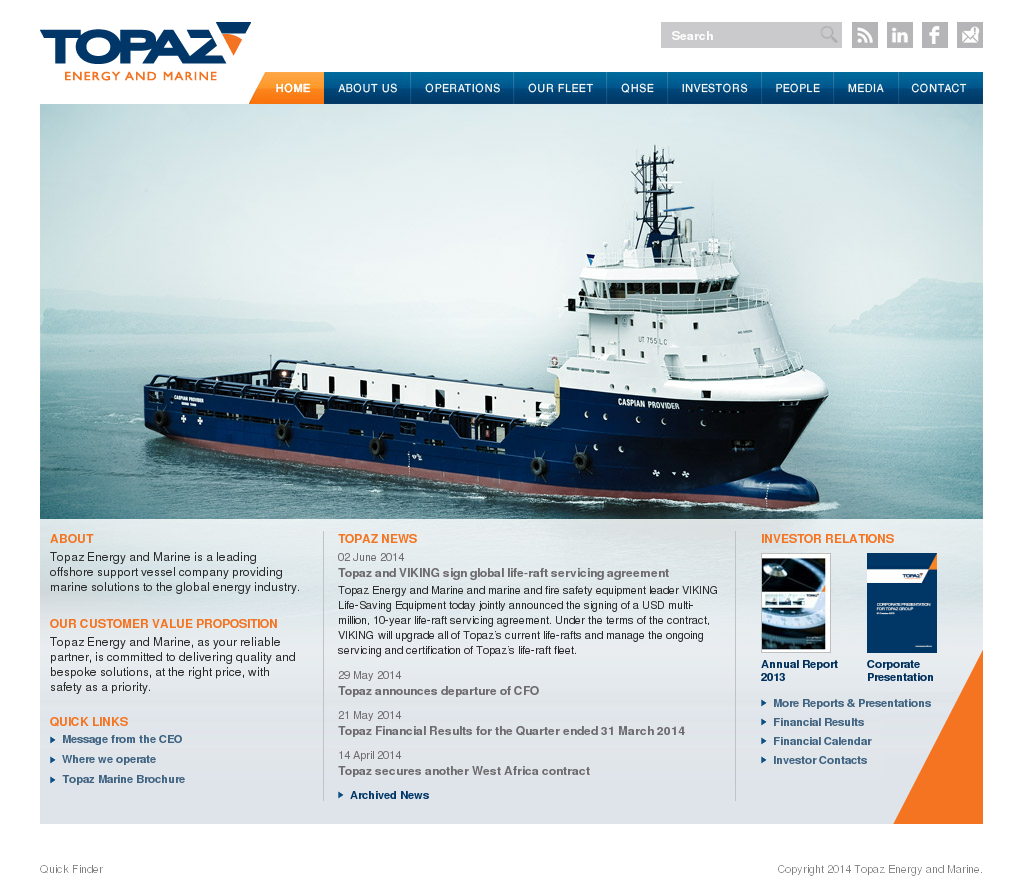 Topaz Energy and Marine Competitors, Revenue and Employees - Owler
