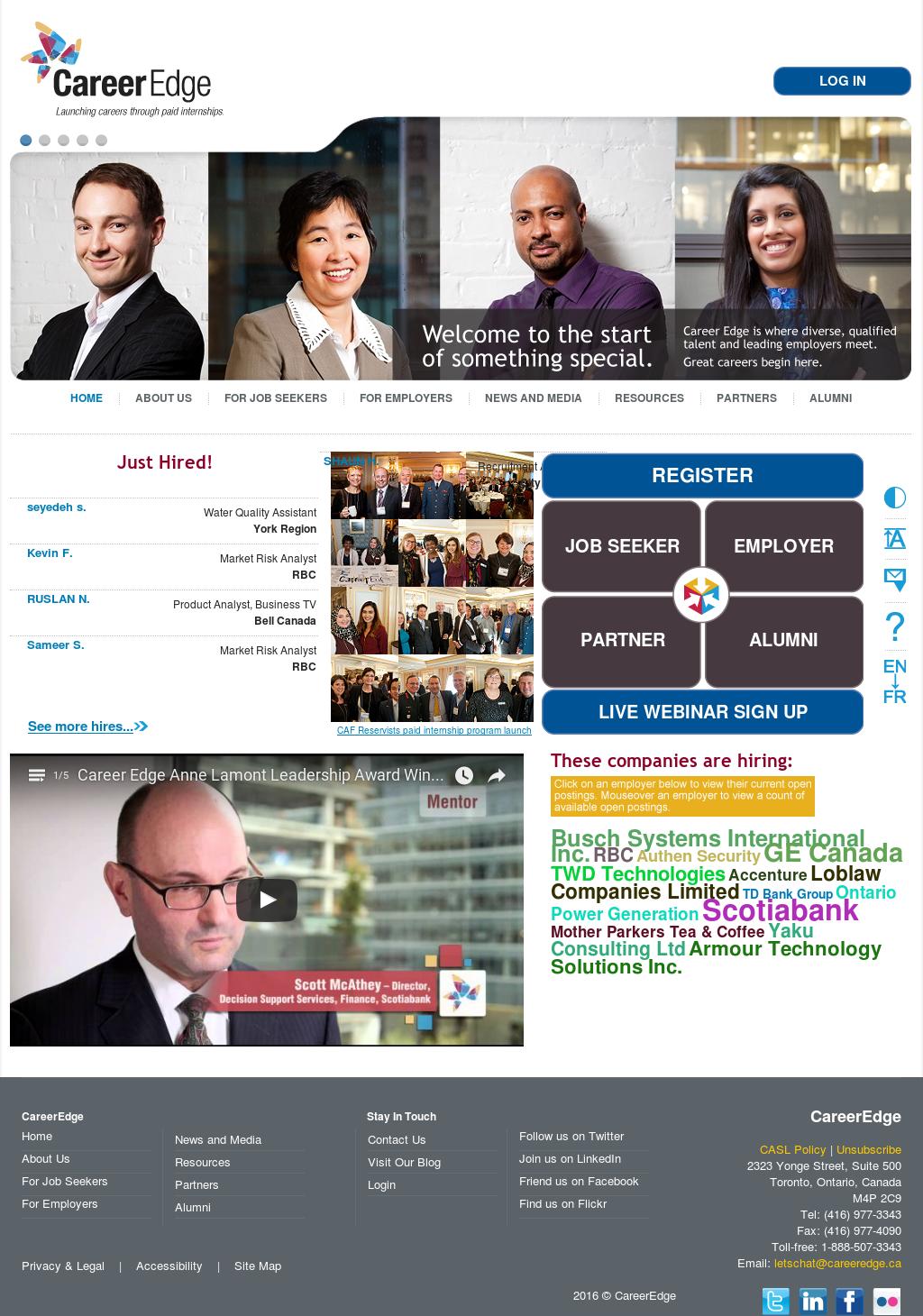 CareerEdge Competitors, Revenue and Employees - Owler