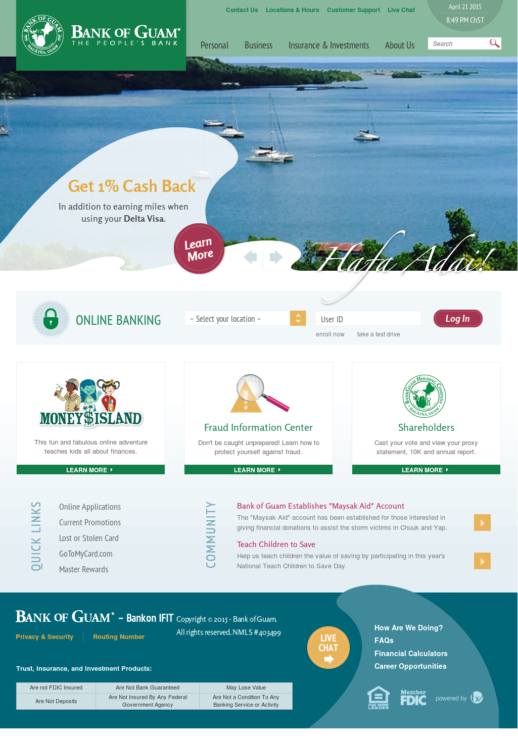 Bank of Guam Competitors, Revenue and Employees - Owler Company Profile