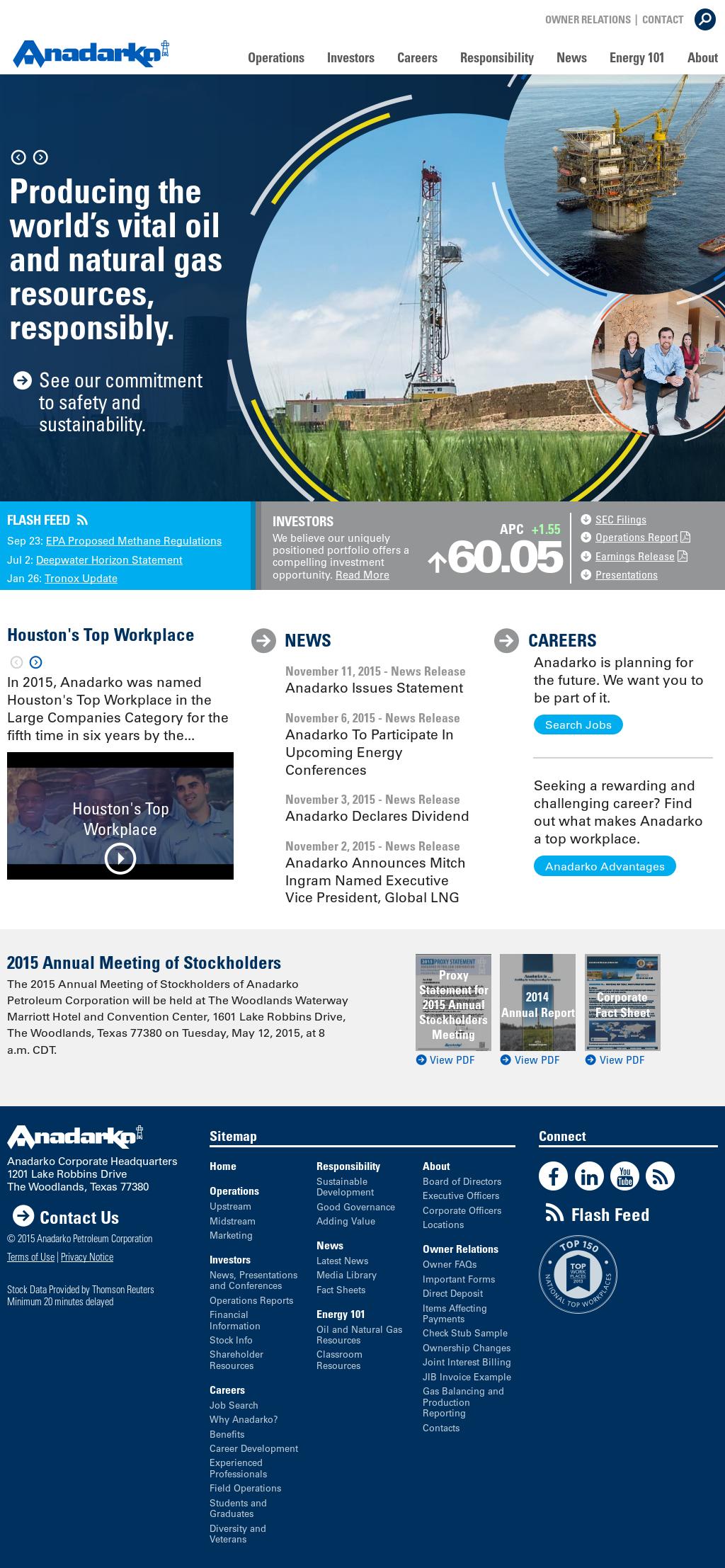 Anadarko Competitors, Revenue and Employees - Owler Company