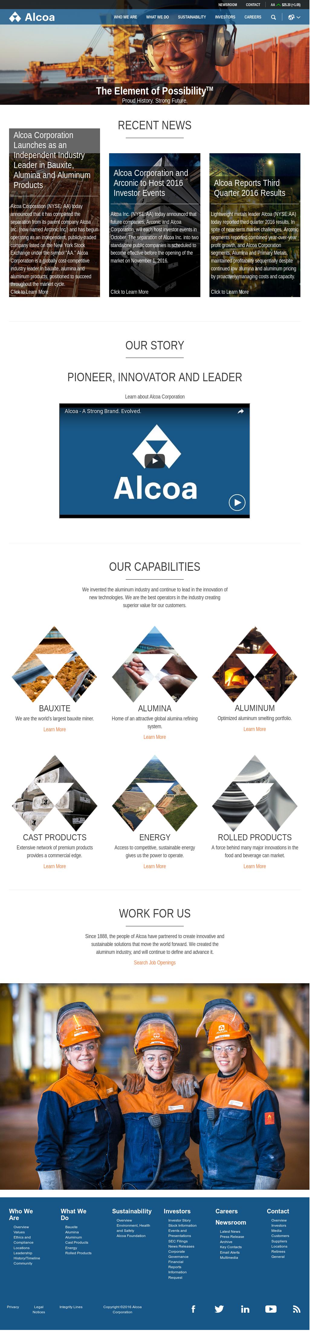 Alcoa Competitors, Revenue and Employees - Owler Company Profile