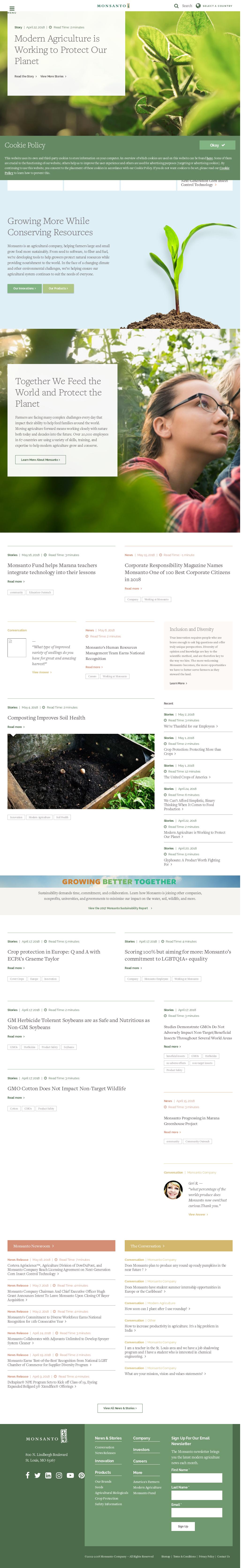 Monsanto Competitors, Revenue and Employees - Owler Company Profile