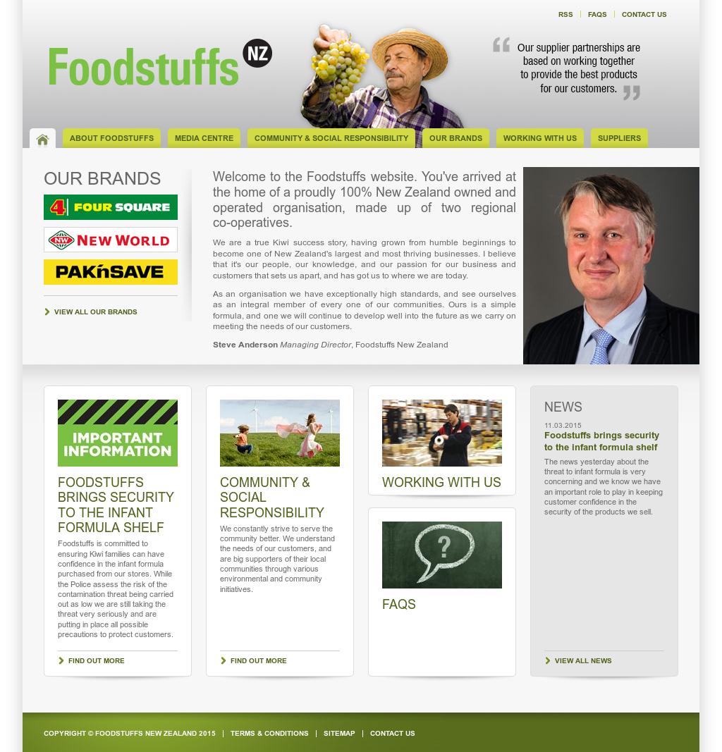 Foodstuffs north island jobs