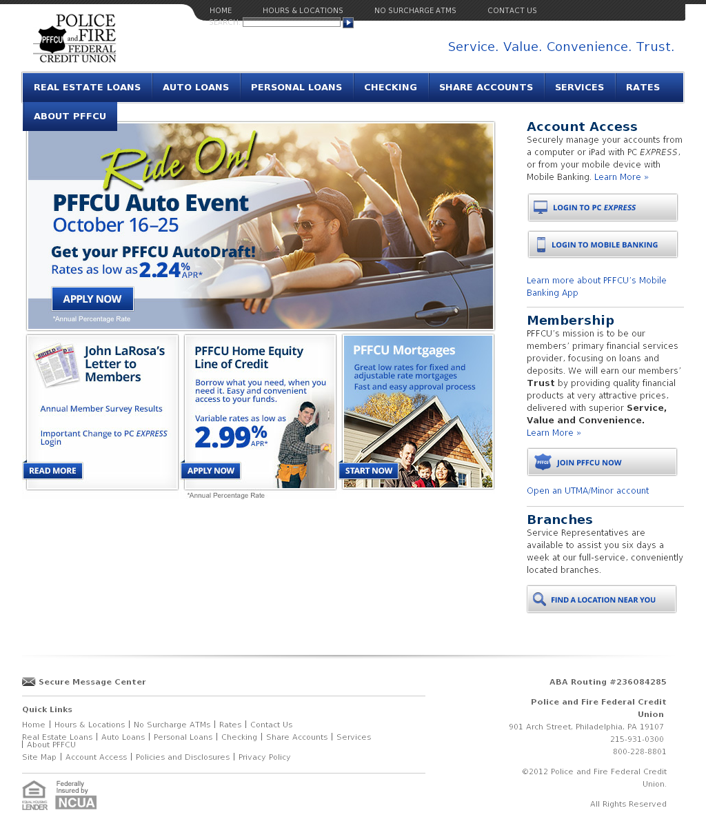 pffcu competitors, revenue and employees - owler company profile