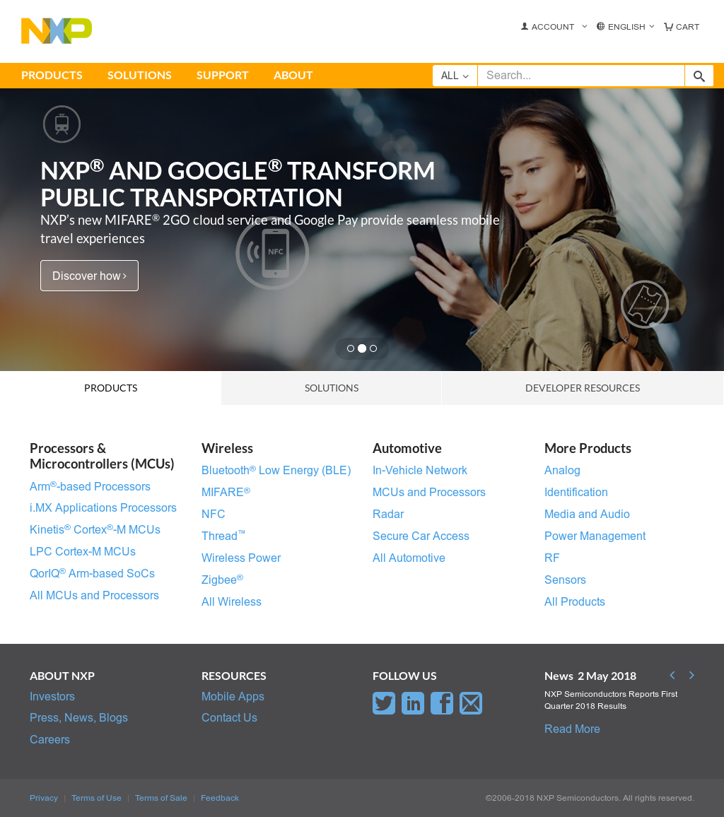 NXP Competitors, Revenue and Employees - Owler Company Profile