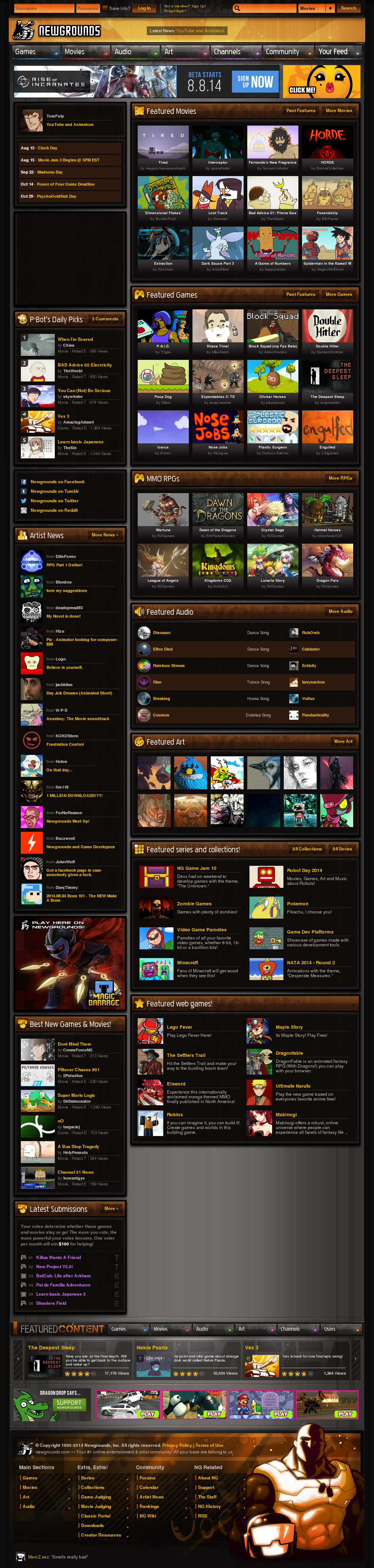 Newgrounds Competitors, Revenue and Employees - Owler