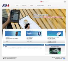 RDA website history