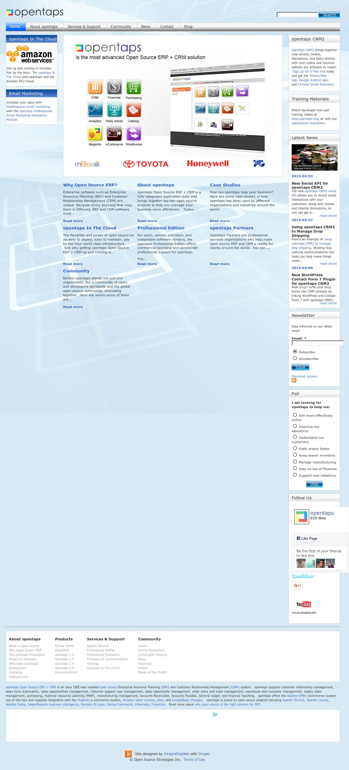 Owler Reports - Opentabs: Opentaps