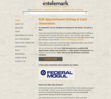 Intelemark website history