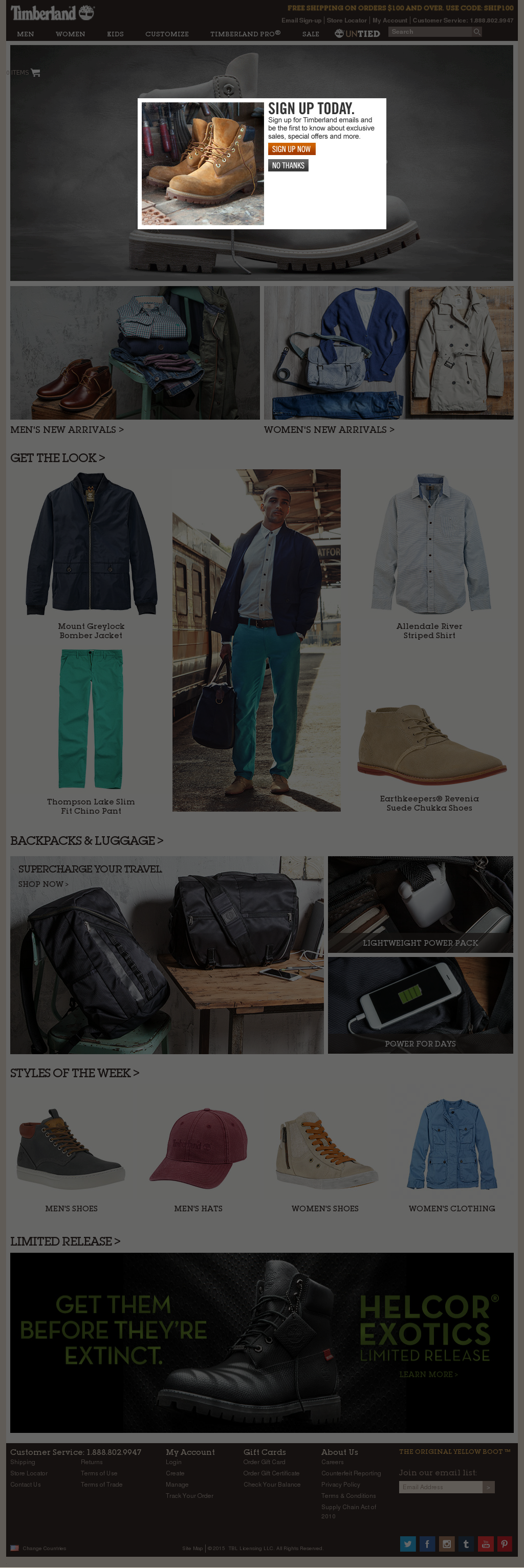 Timberland US rugged boots, boat shoes, outerwear and clothing