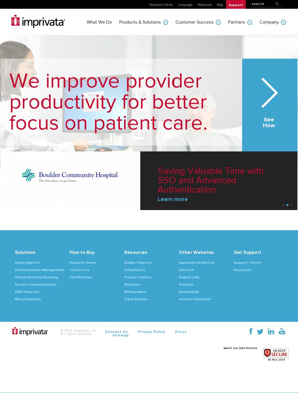 Imprivata Competitors, Revenue and Employees - Owler Company