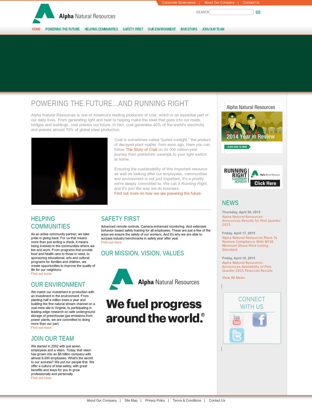 Alpha Natural Resources Company Profile