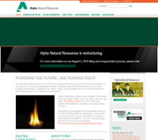Alpha Natural Resources Kingsport
