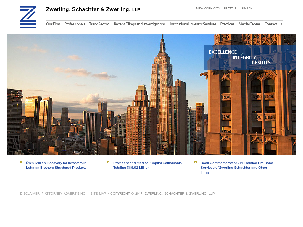 Zwerling, Schachter & Zwerling Competitors, Revenue and