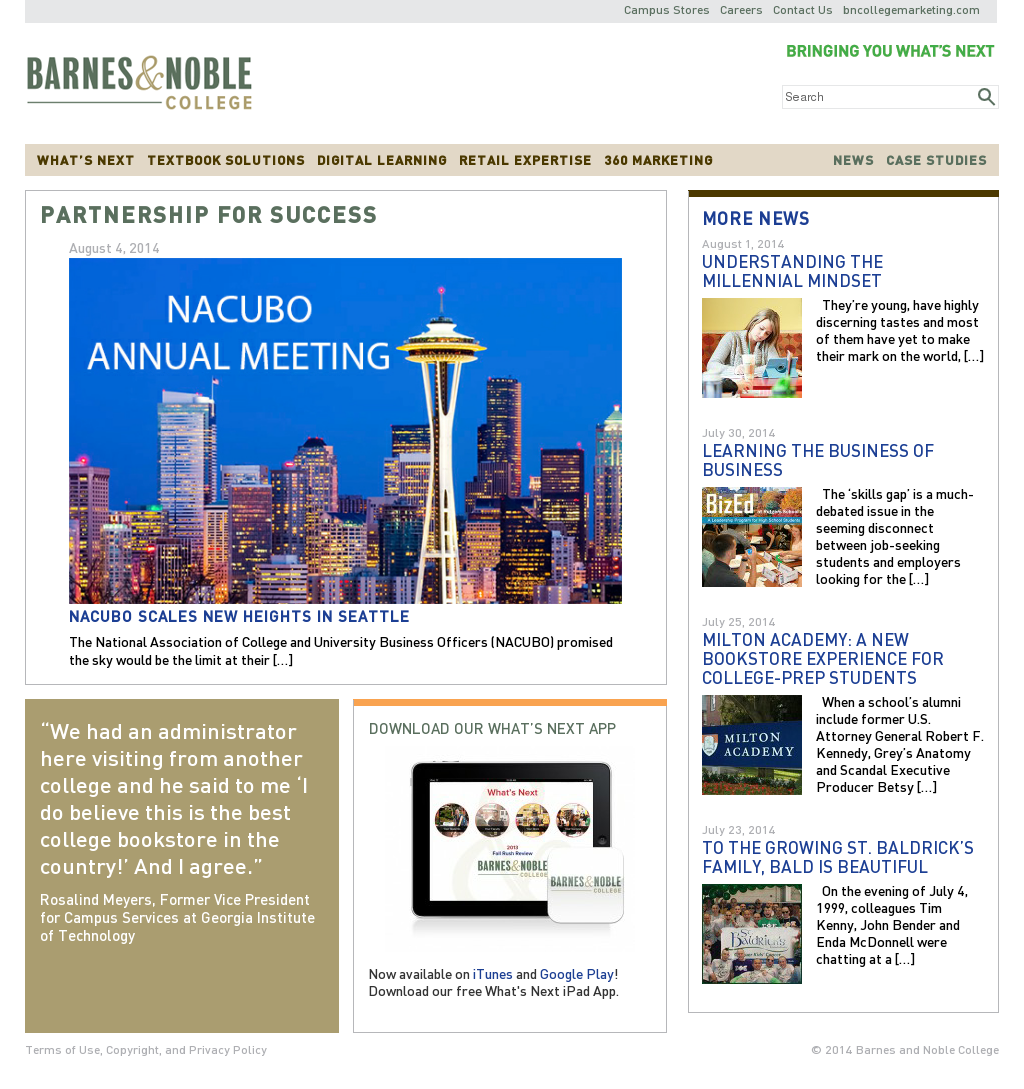Barnes and Noble College Competitors, Revenue and Employees - Owler ...
