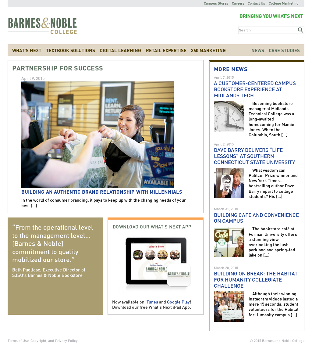 Barnes And Noble College Competitors Revenue And Employees Owler