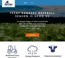 AgriLogic website history