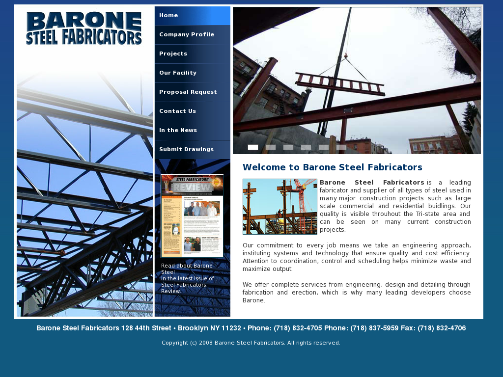 Barone Steel Fabricators Competitors, Revenue and Employees