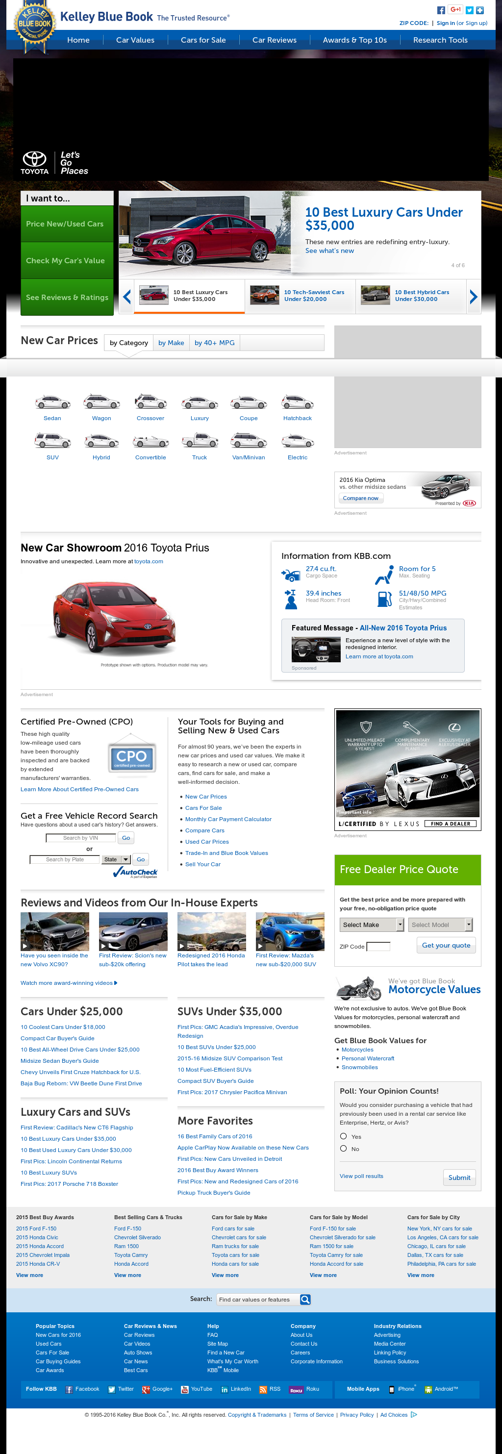 Kelley Blue Book Compeors Revenue And Employees Owler Company Profile
