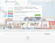 Health Net website history