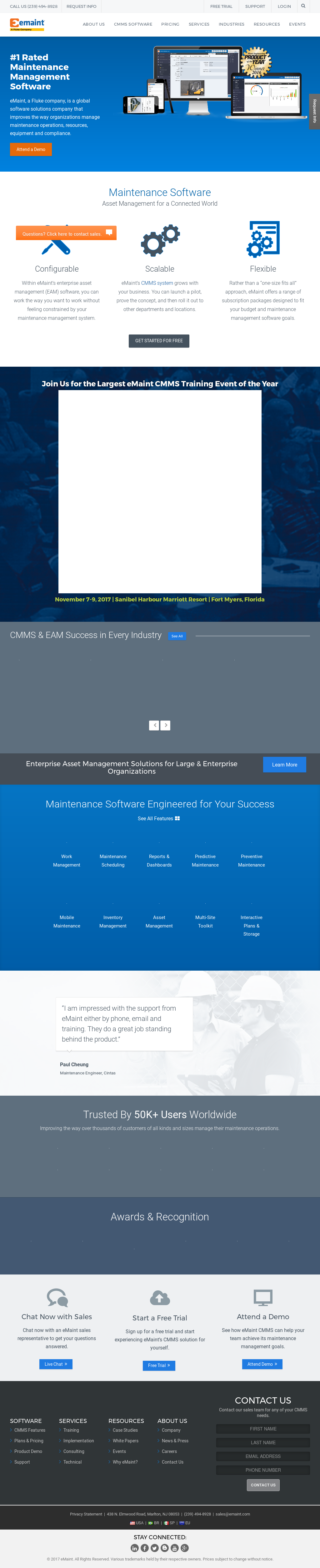 eMaint Competitors, Revenue and Employees - Owler Company