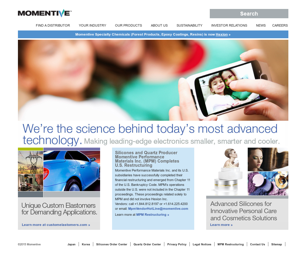 Momentive Competitors, Revenue and Employees - Owler Company