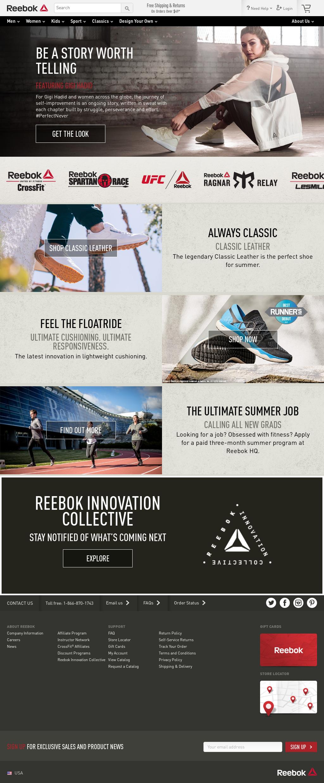 44f0994ae7ecf Reebok Competitors, Revenue and Employees - Owler Company Profile